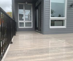 Ezdeck-Premium-PVC-boards-building-deck-outdoor-resistant-water-mold-moisture-mildew-vanilla-colour-canada toronto GTA