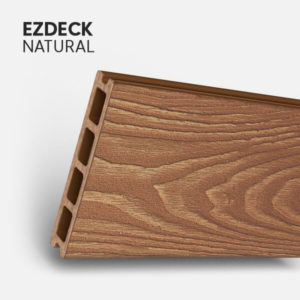 Composite decking boards planks patio porch stairs deck natural