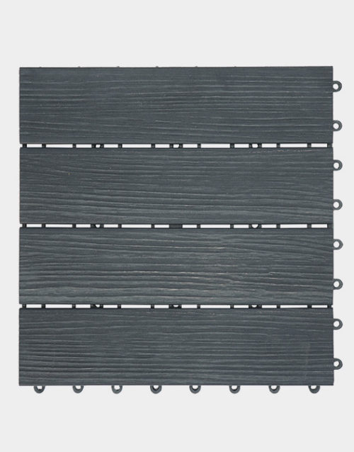 Carbonized-PVC-deck-tiles-flooring-interlocking-square-tiles-grey-colour-toronto-vancouver