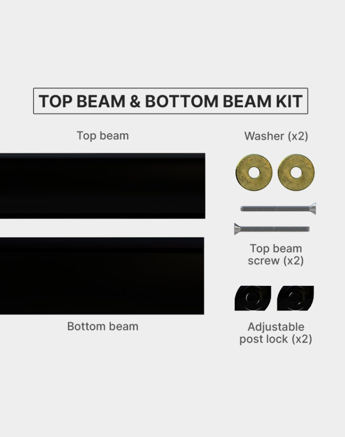 Top-beam-and-bottom-beam-kit