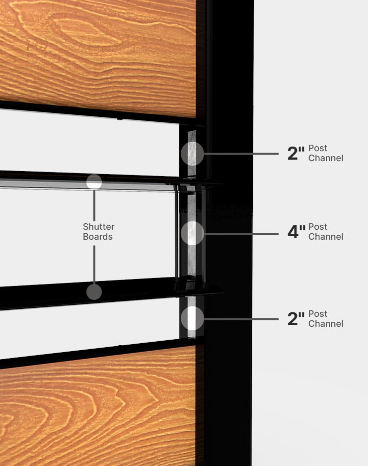 2''-4''-post-channel-for-shutters-installation